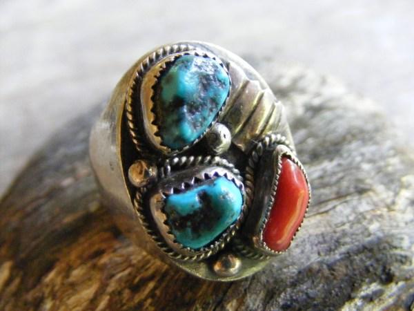Navajo Nugget Ring