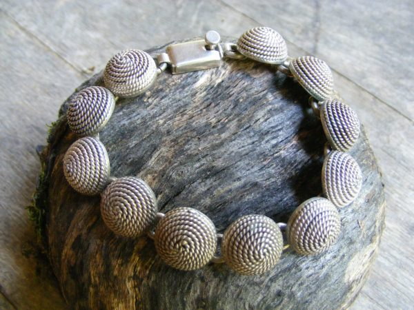 Coiled Rope Bracelet – Vintage Mexican