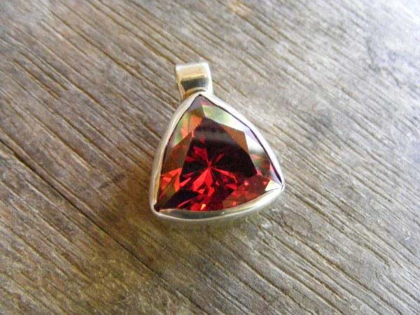 Red Cubic Zirconium – Large