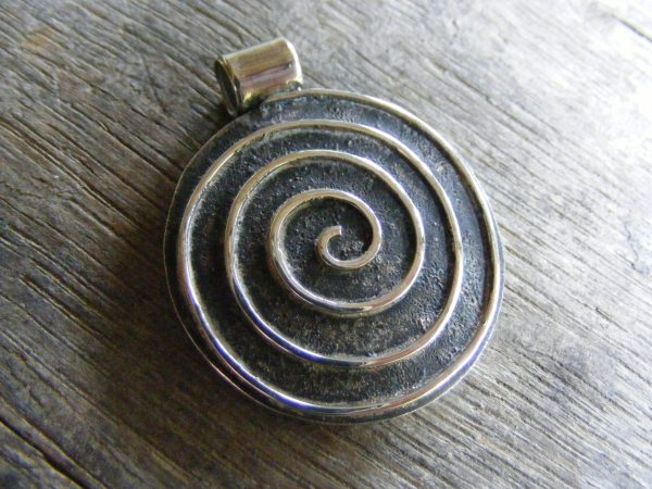 Archimedes Spiral Pendant