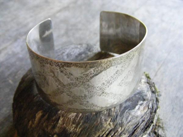 Etched Cuff Bracelet