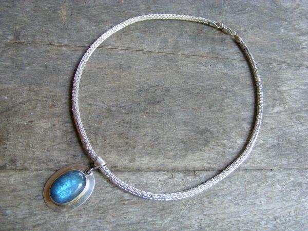 Viking Knit Necklace – 14 1/2″