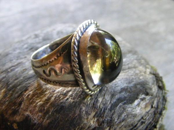 Large Crystal Ring