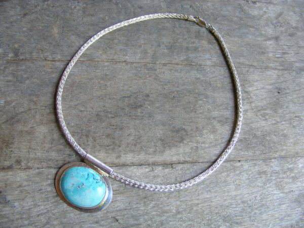 Viking Knit Necklace – 17 inches