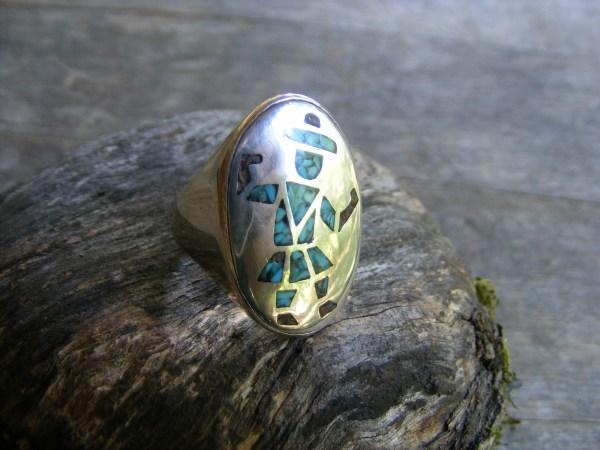 Hopi Dancer Kachina Ring