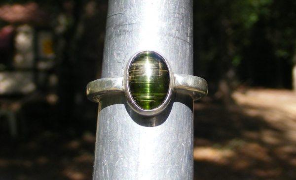Cat's Eye Tourmaline Ring 11