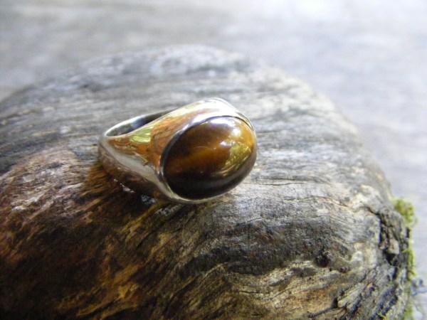 Tiger Eye Ring 3