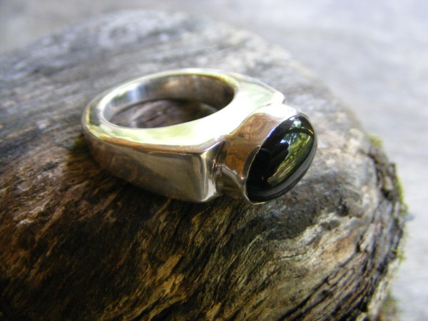 Black Onyx Ring – Vintage Mexican