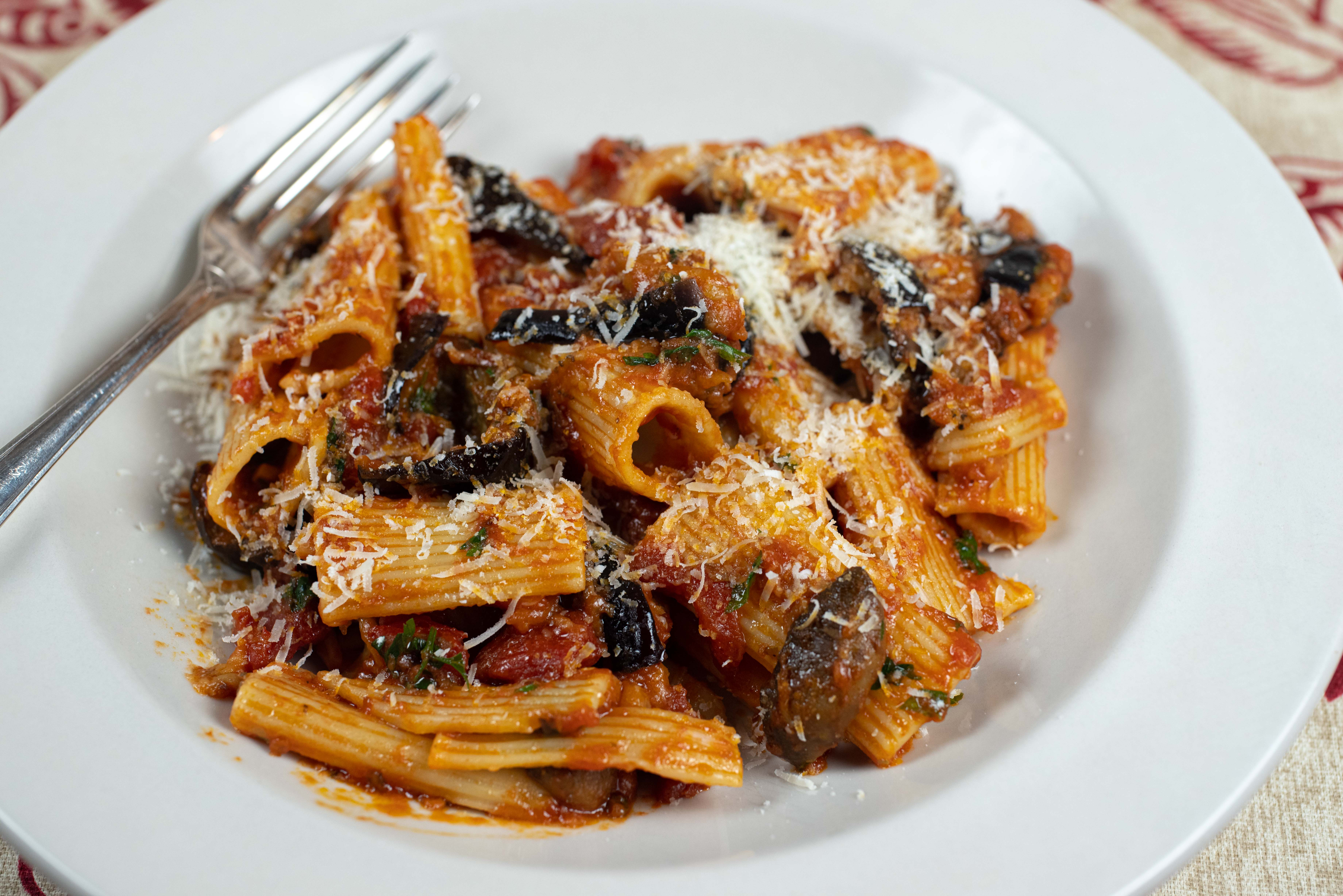 Classic Pasta alla Norma: a dish for opera and eggplant lovers alike