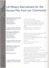 37 Korean War Military Recruitmentmod