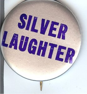 One of two of the last known Silver laughter buttons that are in my possession!