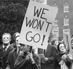 We Won't Go!