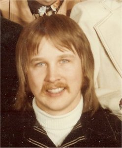 An early photo of Jon clipped from a Silver Laughter group photo.