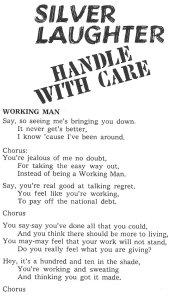"""""""Working Man"""""""