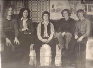 From left: Jon Ludtke, Steve Elliott, John Carstensen, Denny Walton and Kim Ludtke