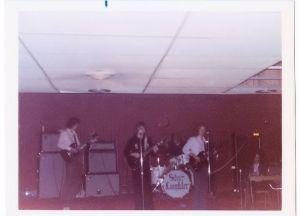 Silver Laughter - Sheldon, Ia 1974 - L-R: Mark, Jon, Kim, Denny and Steve