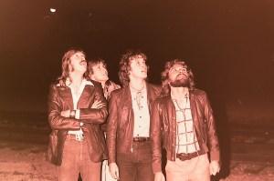 Silver Laughter 1978 - Ken, Mick, Jon and Paul