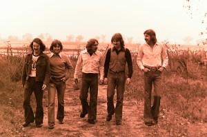 Silver Laughter 1976 - Carl, Mick, Paul, Jon and Ken