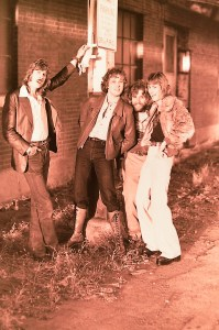 Silver Laughter 1978 - Ken, Jon, Paul and Mick