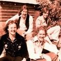Silver Laughter 1976 - Jon, Ken (above), Paul and Mick (far right)