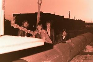 Silver Laughter 1978 - Paul, Mick, Jon and Ken