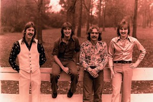 Silver Laughter 1976 - Ken, Mick, Paul and Jon