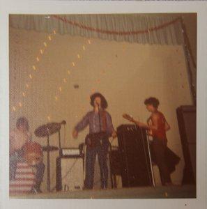 Band shell - Kim, Steve and John