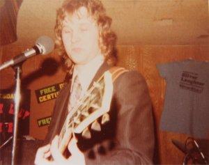 Jon on guitar