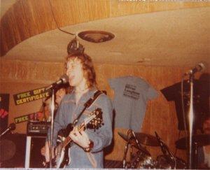 Jon on the Rickenbacker