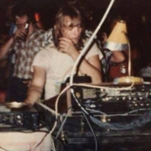 Glenn Stone at the controls