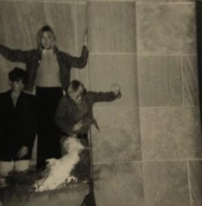 John Carstensen, Jon Ludtke (standing) and Kim Ludtke