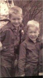 Jon and Kim VERY YOUNG