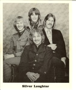 Silver Laughter 1976 - Jim, Mick, Ken and Jon in front