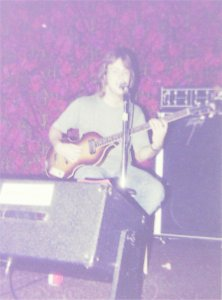 Mick rehearsing