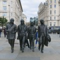 The Beatles - a bit taller than real life!