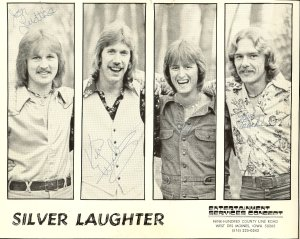 Silver Laughter 1977 - Jon, Ken,. Mick and Paul