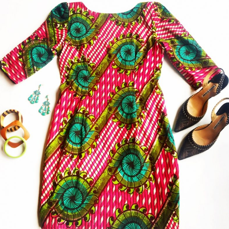 The-Silver-Umbrella-Consignment-Dress-African-Print