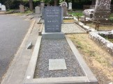 The grave of Yeats - although in recent times there has been a question mark over the remains interred here
