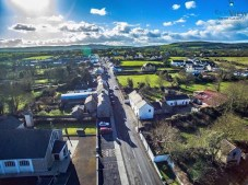 Looking west up the village street (Image Courtest Skyview Photography)