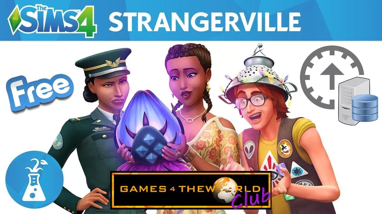 The Sims 4 StrangerVille Free Update Games4TheWorld