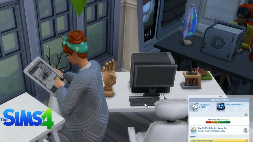 The Sims 4 Freelancer Update 1.51.75.1020