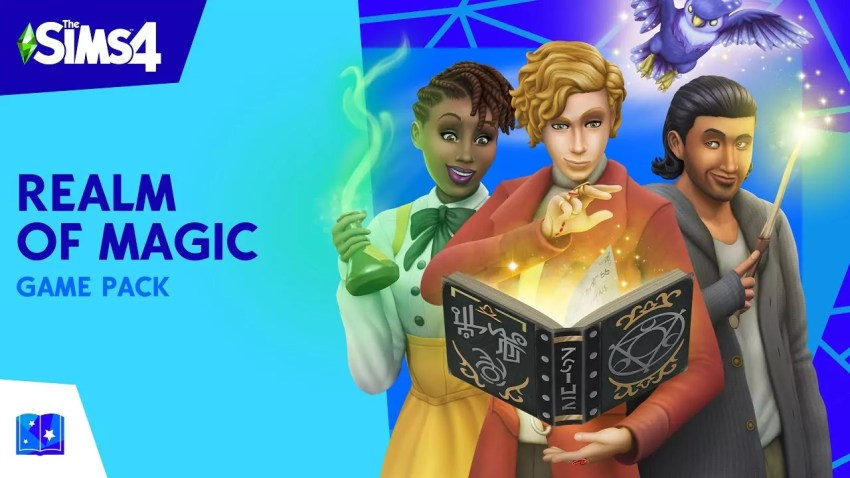 The Sims 4 Realm of Magic 1.55