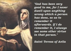 Saint Teresa of Avila quote