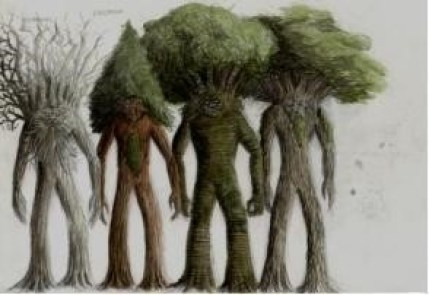 trees look like people