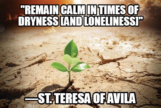 spiritual dryness