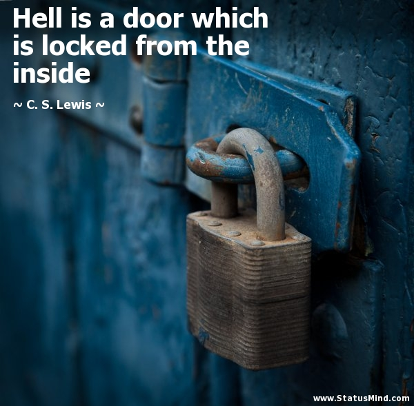 hell lock on inside