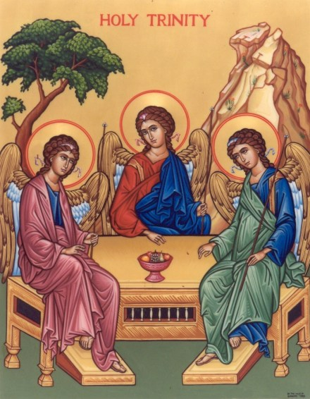 trinity icon sacred art