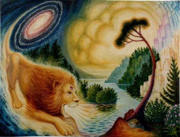Aslan Sings to Create Narnia