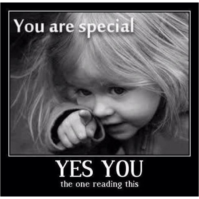 you are special too