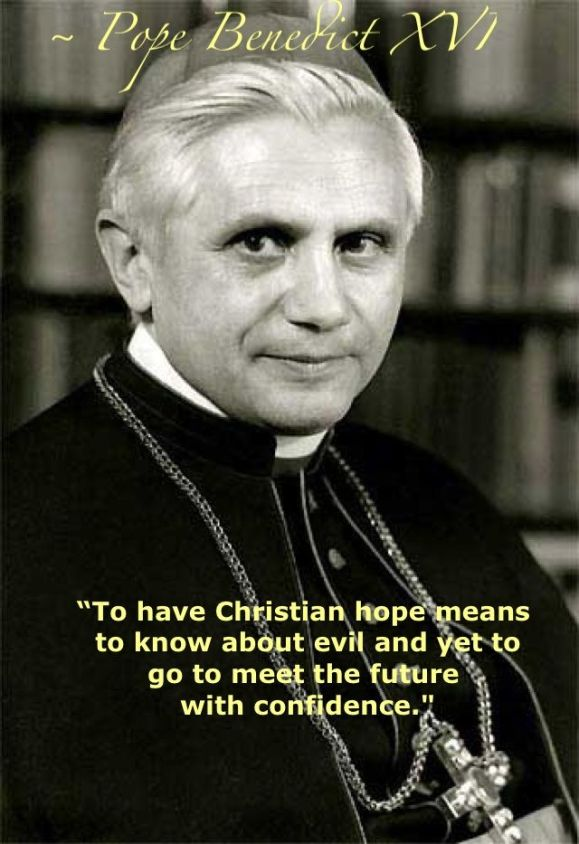 Pope Benedict XVI on hope